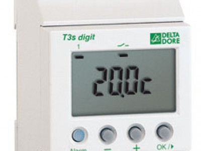 Thermostats modulaires T3S-Digit Delta Dore